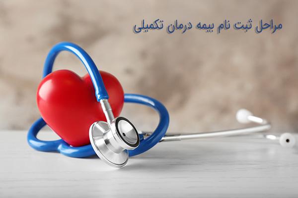مراحل ثبت نام بیمه درمان تکمیلی
